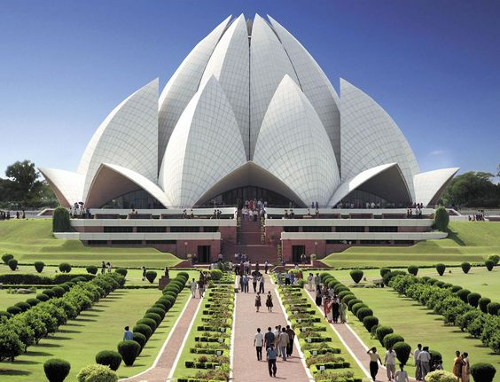 Lotus Temple – The floral beauty of India